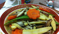 Breath of Nature: Braised various mushrooms with vegetables