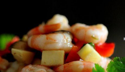 Try this recipe if you are a liker of seafood and mushroom